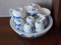 A traditional tea set