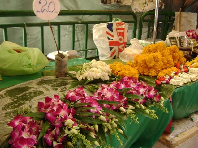 Bangkok, Flowers for Sale