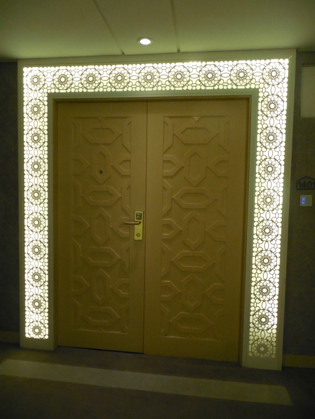 Urumqi, Hotel door